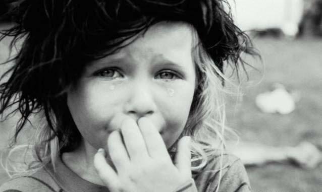 ... terrible es para nuestra alma el llanto de un nino hace dias escuchaba